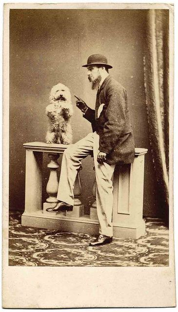 *Dog training...Libby Hall Collection