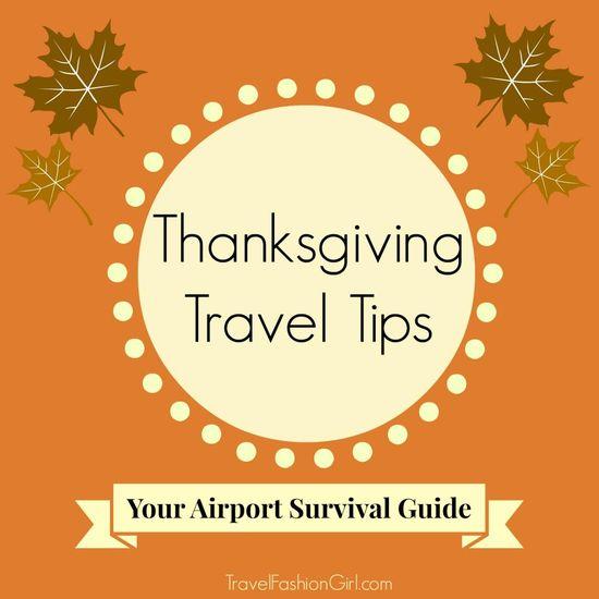 5 Thanksgiving Travel Tips