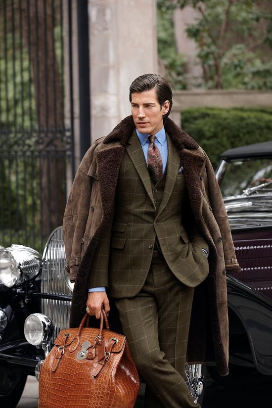Ralph Lauren Purple Label Fall 2012 #Menswear