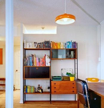 St. Lawrence Market Mid-Century modern home office