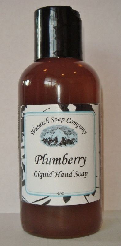 Plumberry Spice Handmade Liquid Soap  LIMITED