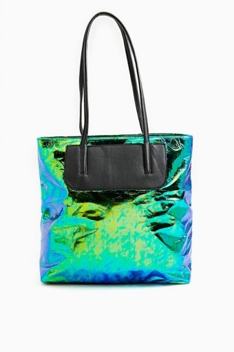 Foil Tote by Nasty Gal