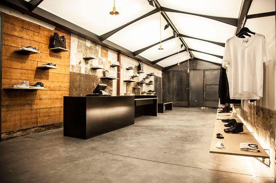 adidas No. 42 store by ether a.c., Paris store design