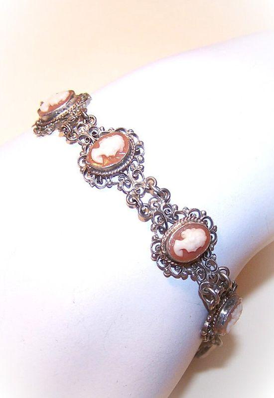 I love cameo style jewelry.