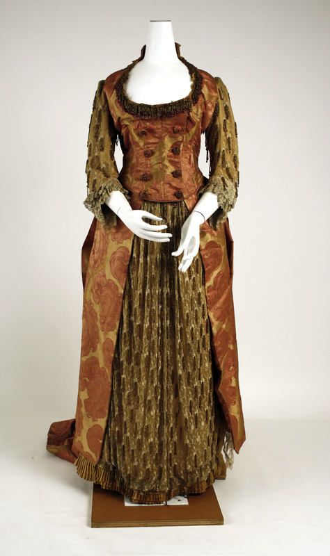 1886 evening dress