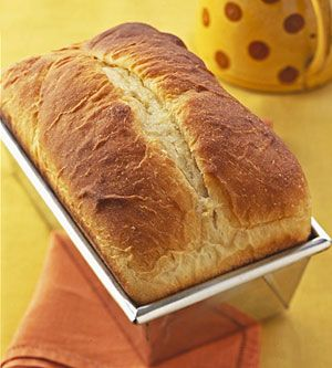 Bread and butter is one of the great culinary combinations that's often overlooked. These loaves are brushed with melted butter during baking, and  the split top ensures that every bit is saved for optimal buttery goodness.