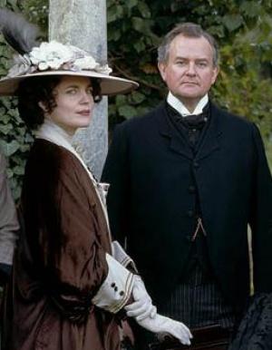 HUGH AND ELIZABETH in Downton Abbey - www.myLusciousLif...