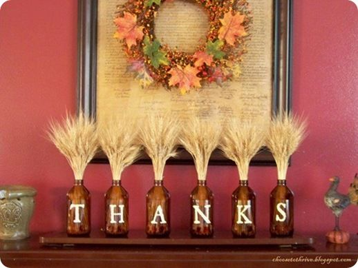 Thanksgiving decorations!