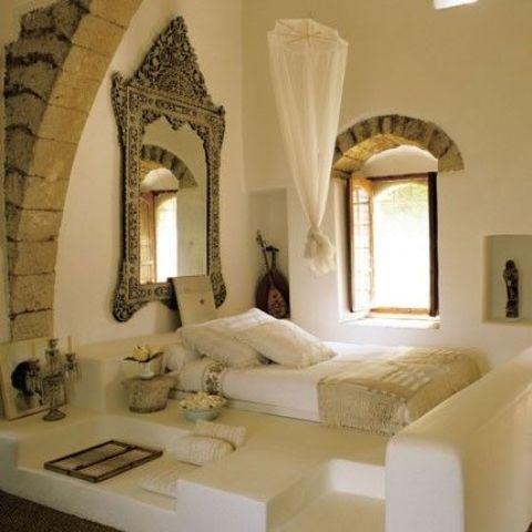 Mediterranean Bedroom Decorating