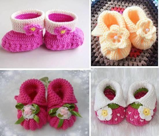 #Lovely #Kids #Baby #Crochet #Shoes
