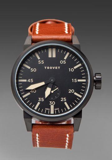TSOVET  SVT-FW44 in Black/Brown