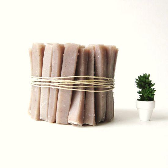 Travel Soap Sticks :: Bulk Bundle of 50 :: Lavender Handmade Soap :: DIY party favors by prunellasoap
