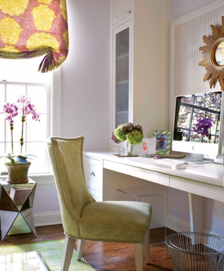 Home office work space