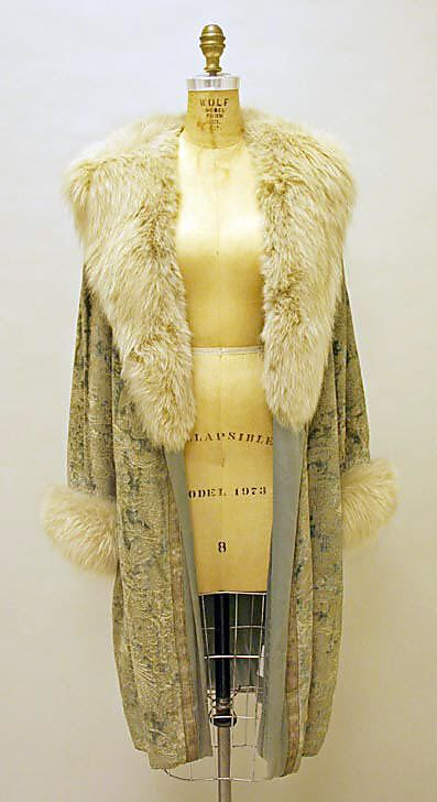 11-11-11  House of Lanvin evening coat 1926