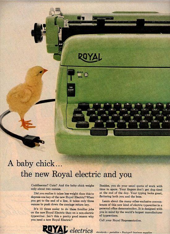 1951 royal typewriter