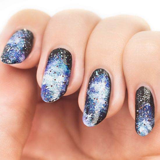 Galaxy Nails Set