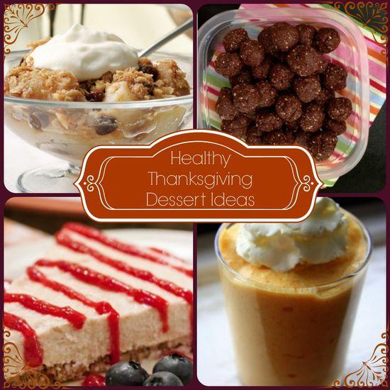 Healthy Thanksgiving Dessert Ideas #health #lowfat #lowcal #desserts #recipes