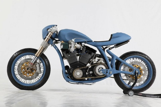 2013 AMD World Championship Cafe Racers - via Return of the Cafe Racers