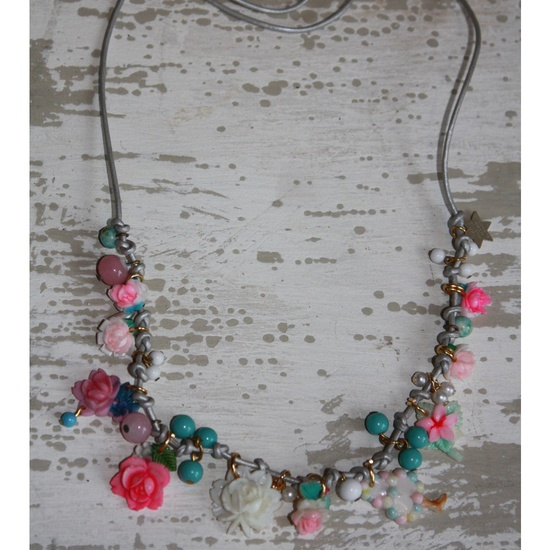 Hand-Made Charm Necklace