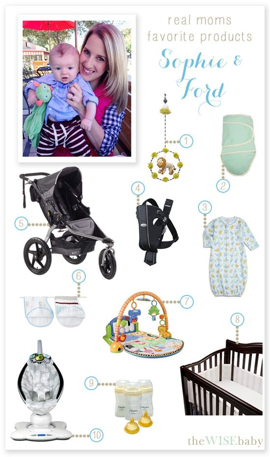 A great list of a real mama's favorite baby products and how they fit so well into her lifestyle!  If you are interested in sharing your favorite products, email me! (mailto:lindsey@th...)