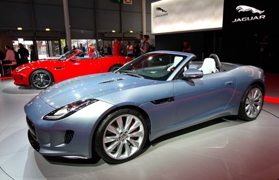 The new 2013 Jaguar F-Type. British cars are exciting once again.