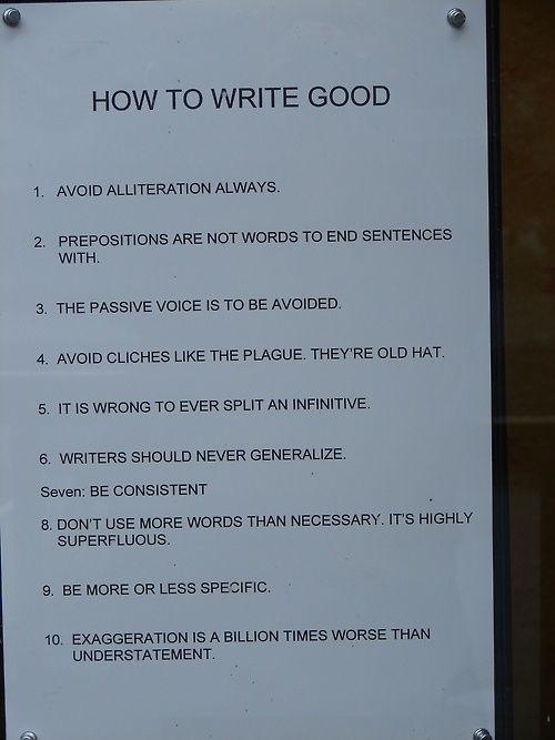 Humor for the grammar geek.