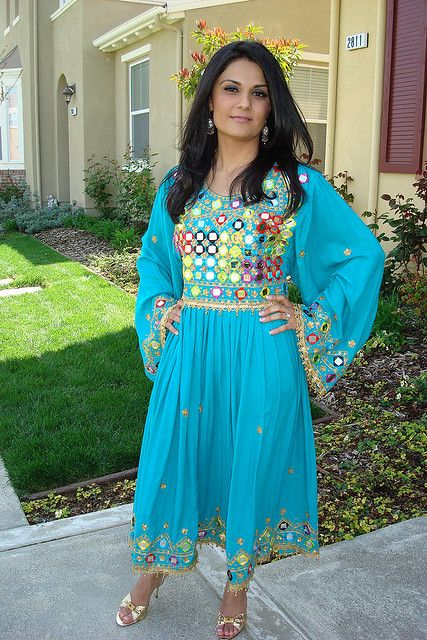 The traditional dress of Afghanistan has also gone through many variations and fashions. In Afghanistan, cotton and wool have remained the dominant fabrics used for dressing; however, for preparing the expensive dresses, rugs and carpets, silk was also an important raw material.