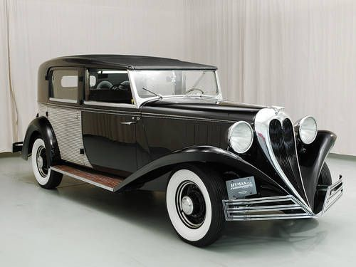 1936 Brewster Ford Town Car. #vintage #1930s #cars