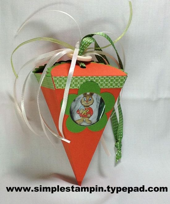 Carrot that Rocks! - Petal Cone Die - Stampin' Up!
