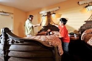 Walt Disney World - Caribbean Beach Resort - Pirate room. Yes, please. NOW, please.