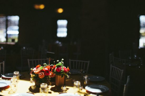 Paige Newton Photography - Blog - {HITCHED} Aubrey & Chris /// Flower arrangements at reception // Houston, TX Wedding
