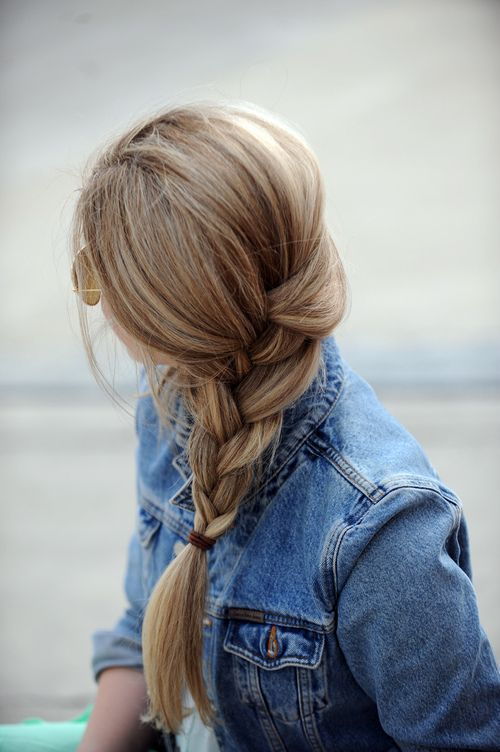 Side braid.