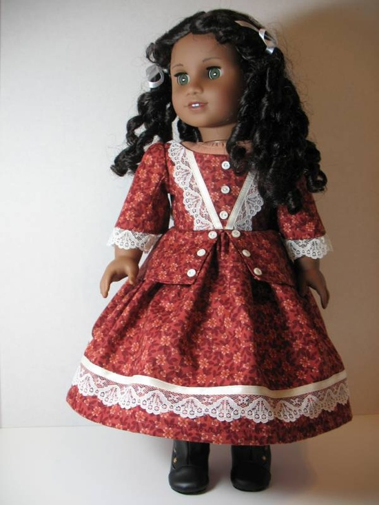American Girl Fall Frock for Cecile or Marie-Grace from ThreadsOfTroy