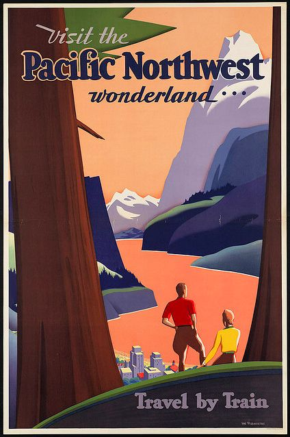 Did you make this one, Kathryn??  :)  vintage travel poster #poster #vintage #travel