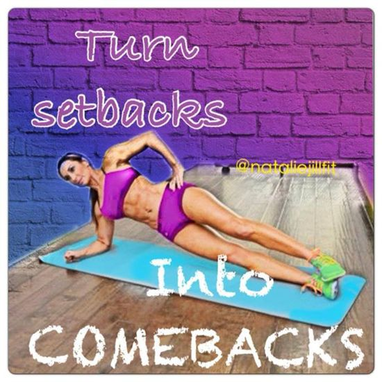 Turn setbacks into COMEBACKS!