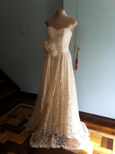 my wedding dress.
