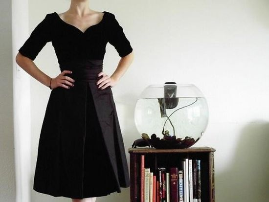 1950's cocktail dress #vintage #dress