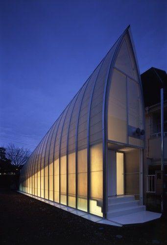 Narrow House by Atelier Tekuto, Japan.