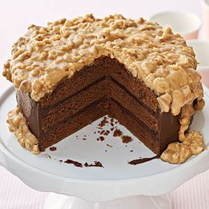 Chocolate-Praline Cake, oh my!