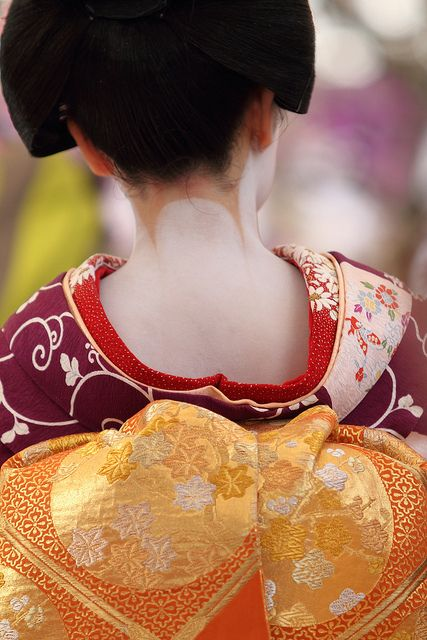 Maiko's Obi (a sash for kimono)