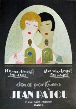 Patou perfume ad, 1920s