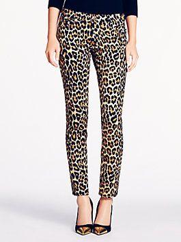 Kate Spade Fall 2013 - Leopard pants