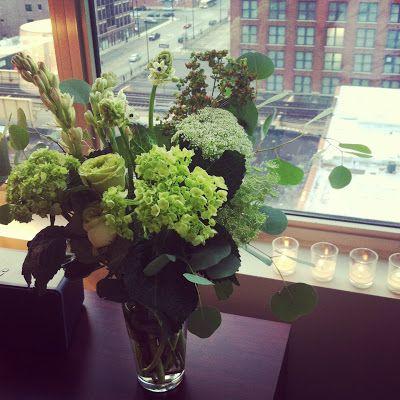 Branch Design - green arrangement #flowers