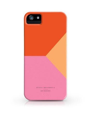 Colorblock Pink iPhone 5s/5/c/4S/4 Case / Julia Kostreva