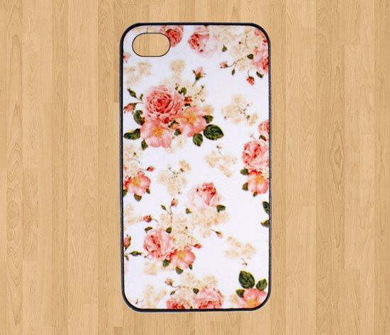 Flower iPhone 4 Case Rose iPhone 4s Case Floral iphone by xCase, $5.89