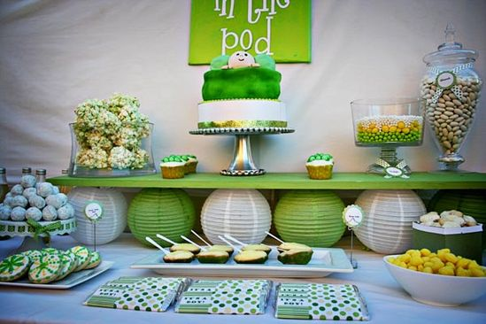 A pea in the pod baby shower