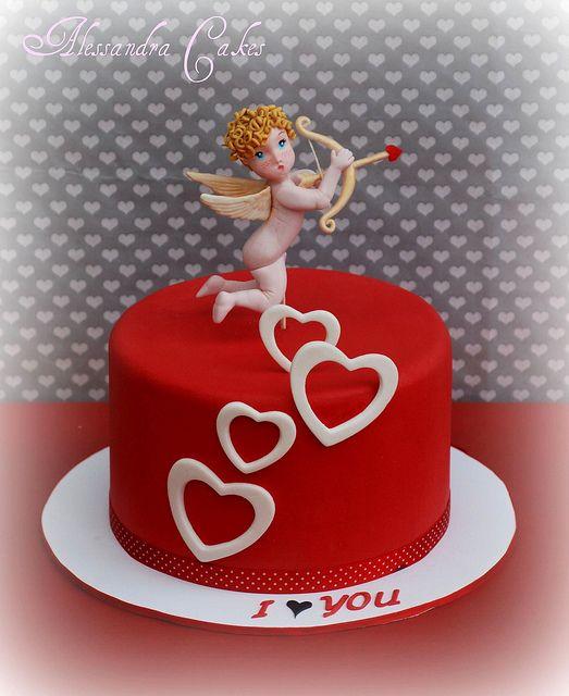 San Valentino Cake by Alessandra Cake Designer, via Flickr