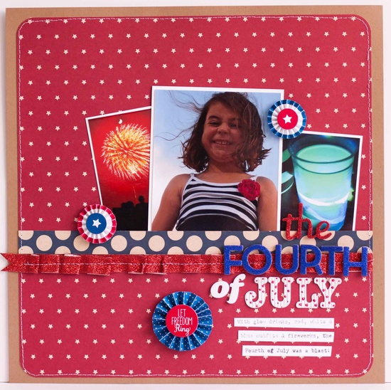 the Fourth of July - Scrapbook.com