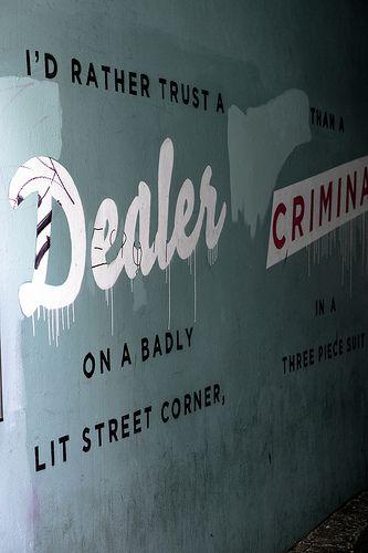 Dublin City - Streetart In Temple Bar