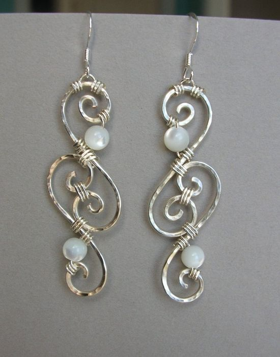 Wire Filigree Earrings